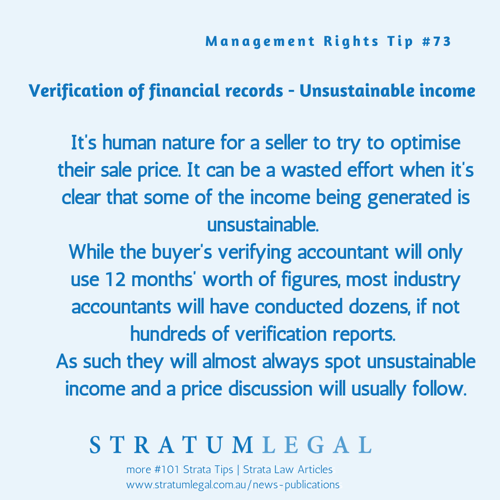 StratumLegal-Tip#73-ManagementRights-Verification-of-Financial-Records